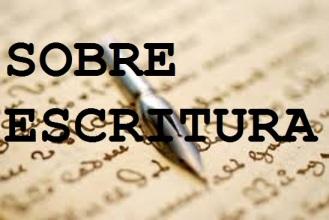 sobre escritura