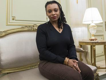 Miano da en su novela la palabra a los africanos que perdieron a sus seres queridos y vivieron el drama de la esclavitud. EFE